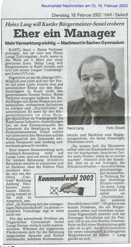 Neumarkter Zeitung